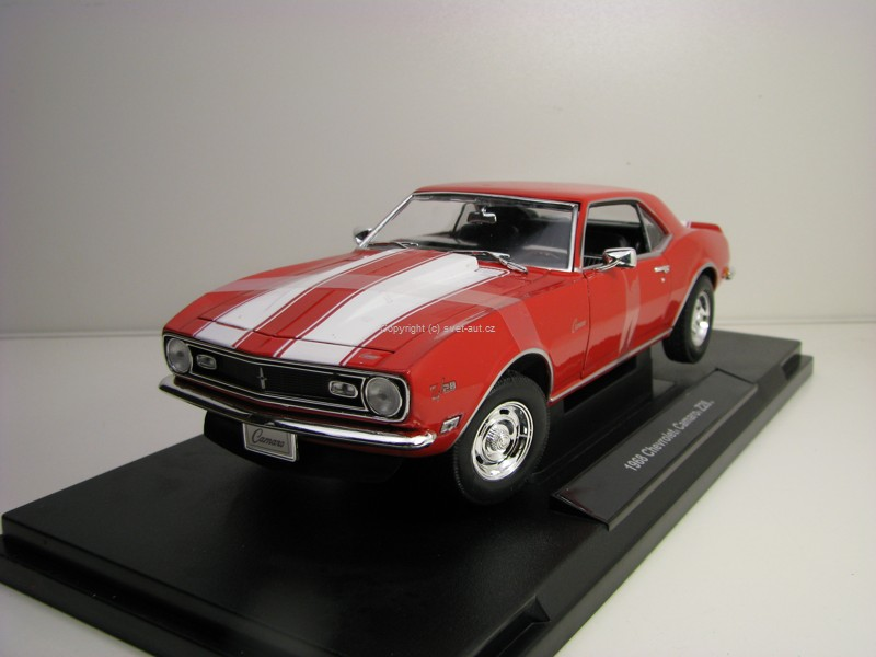 Chevrolet Camaro Z28 1968 Red 1:18 Welly